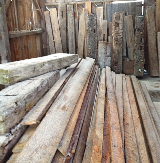 Barn Wood Beams And Rough Cuts For